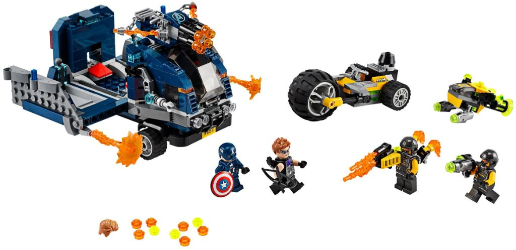LEGO Marvel 76143 Avengers Truck Take Down 1