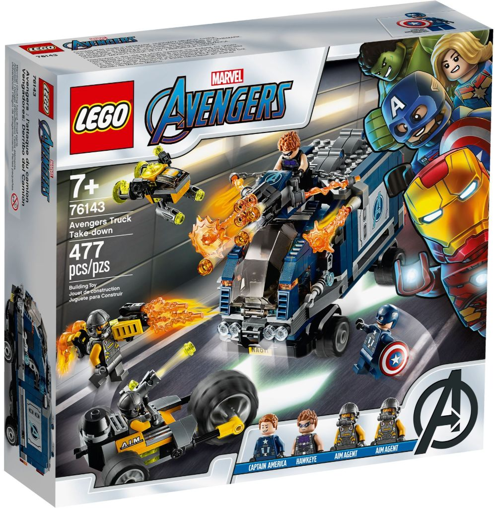 LEGO Marvel 76143 Avengers Truck Take Down 2