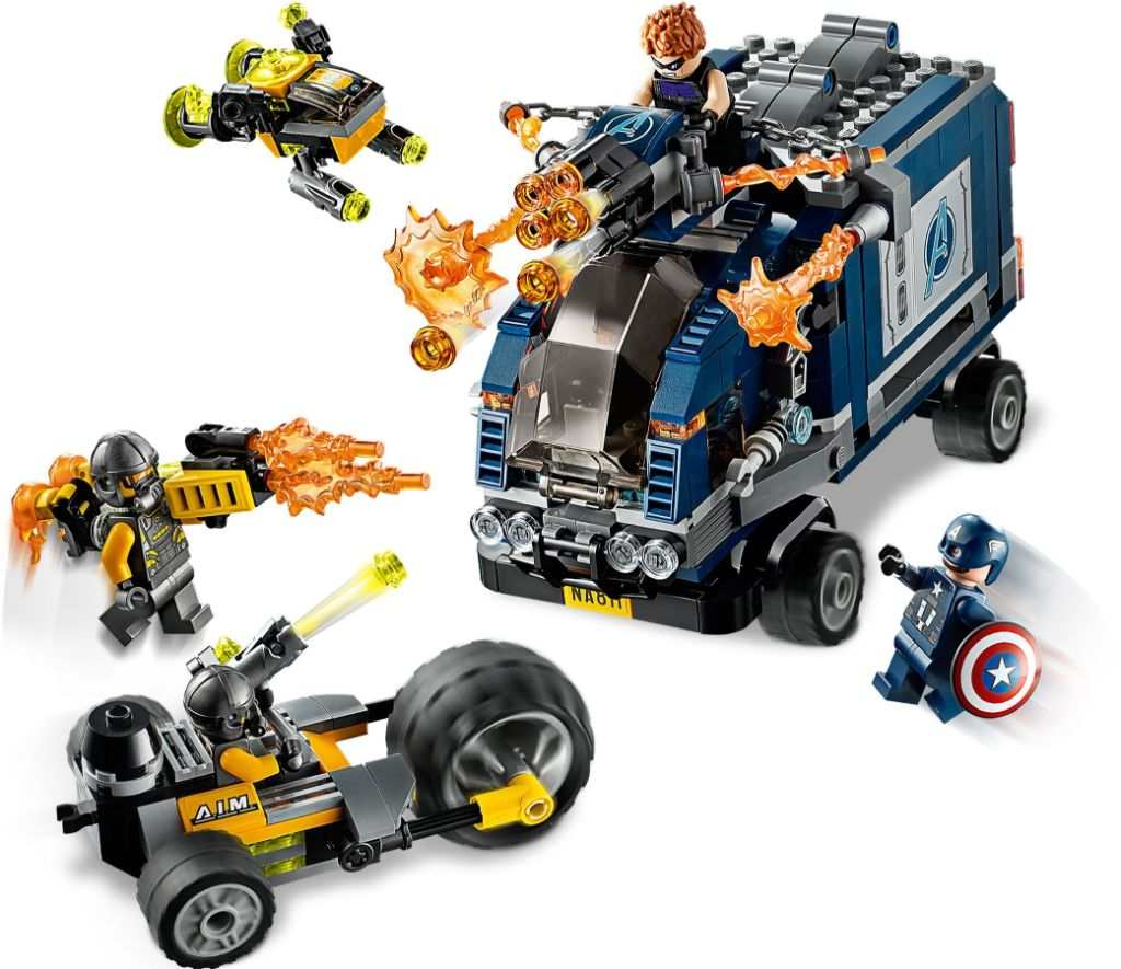 LEGO Marvel 76143 Avengers Truck Take Down 3