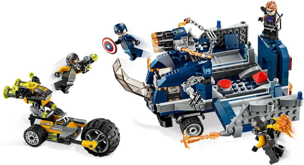 LEGO Marvel 76143 Avengers Truck Take Down 4