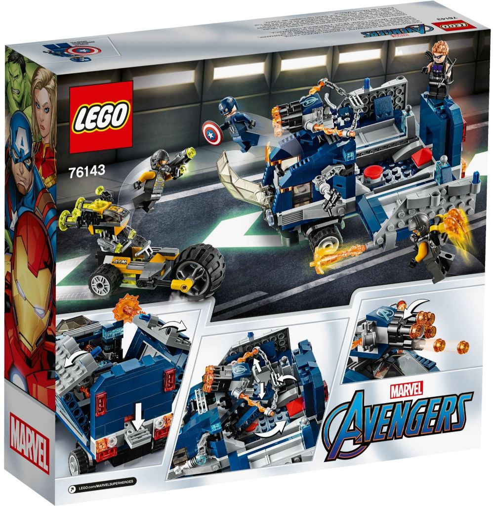 LEGO Marvel 76143 Avengers Truck Take Down 5
