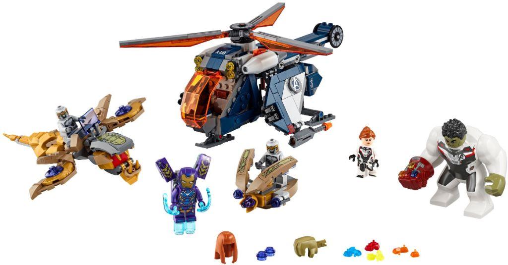 LEGO Marvel 76144 Avengers Hulk Helicopter Rescue 1