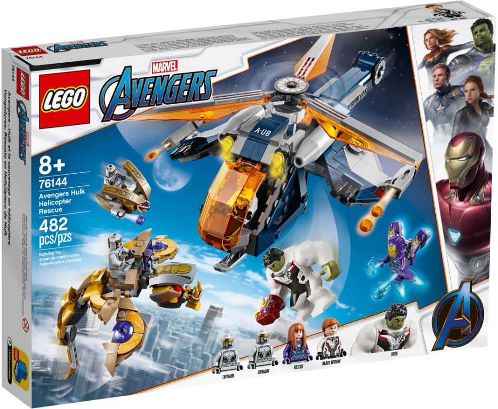 LEGO Marvel 76144 Avengers Hulk Helicopter Rescue 2