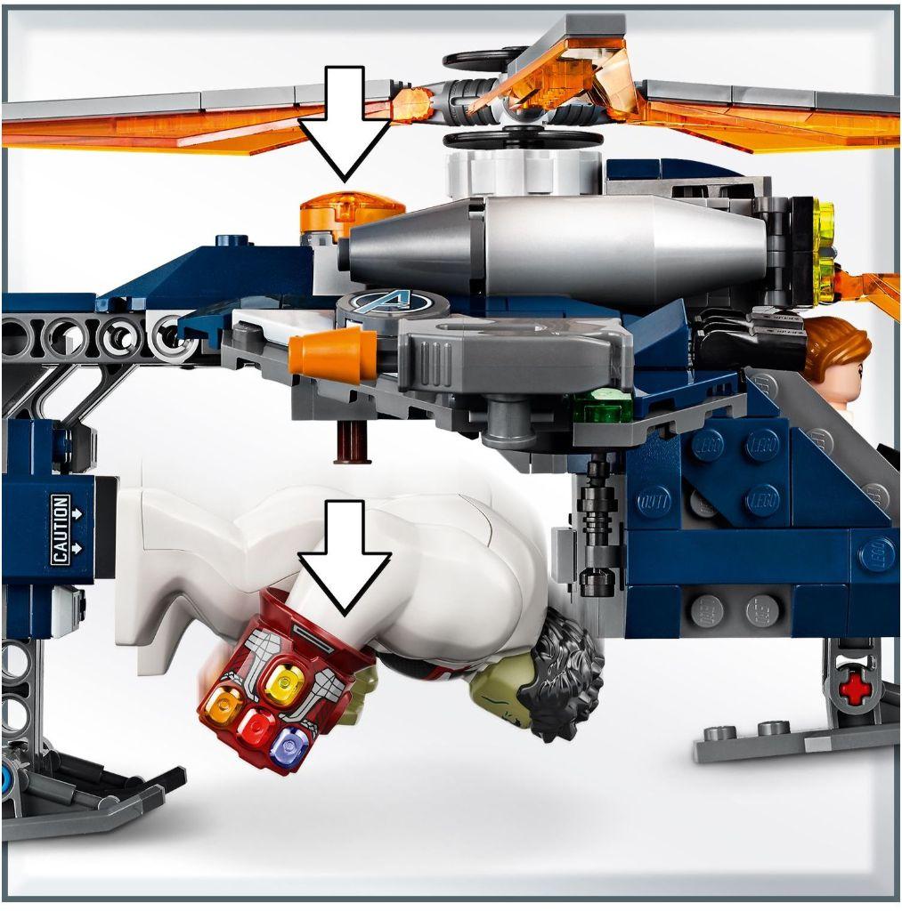 LEGO Marvel 76144 Avengers Hulk Helicopter Rescue 4
