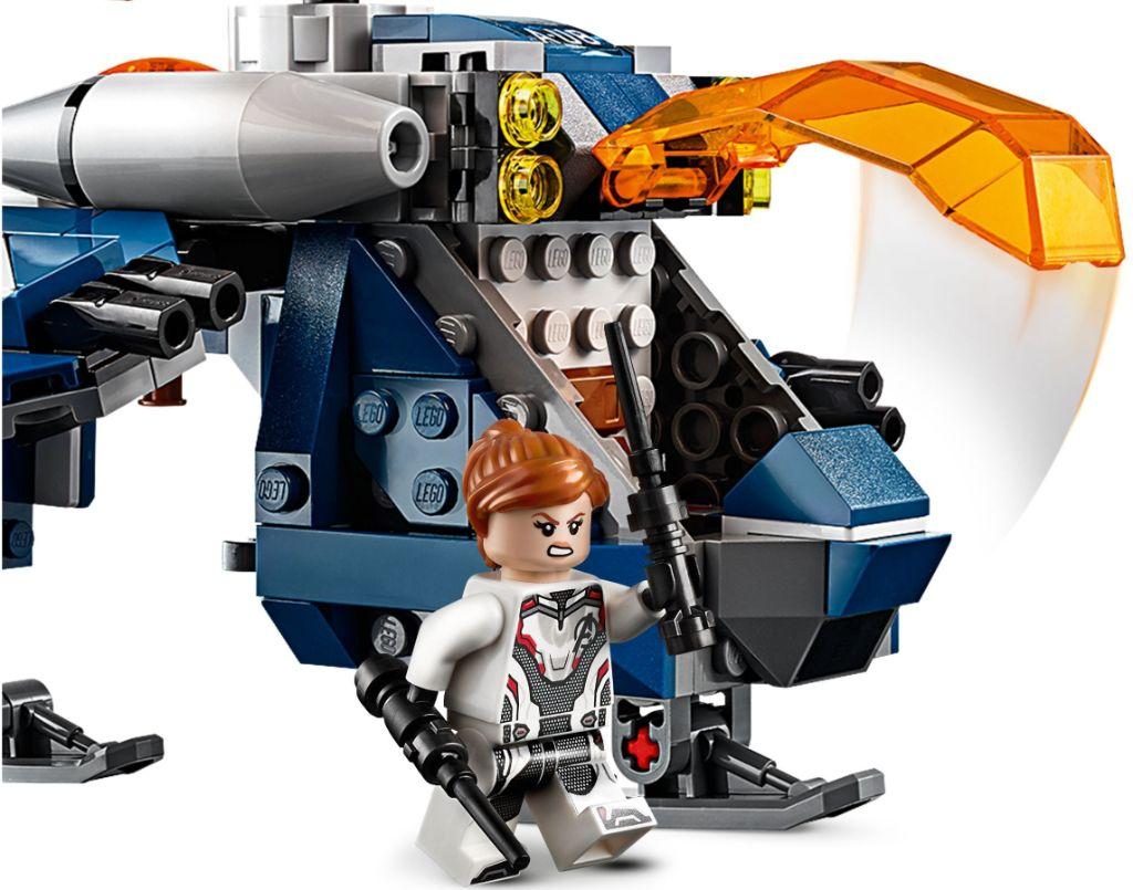LEGO Marvel 76144 Avengers Hulk Helicopter Rescue 5