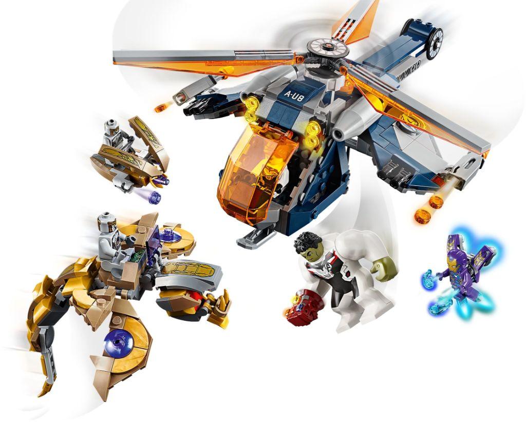 LEGO Marvel 76144 Avengers Hulk Helicopter Rescue