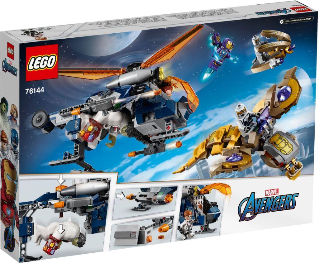 LEGO Marvel 76144 Avengers Hulk Helicopter Rescue 8