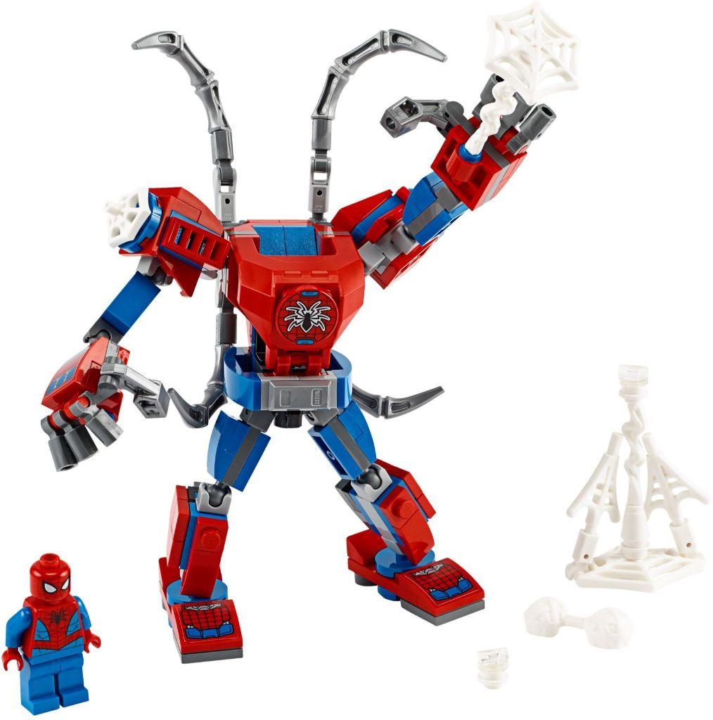 LEGO Marvel 76146 ადამიანი ობობა მექანი 1