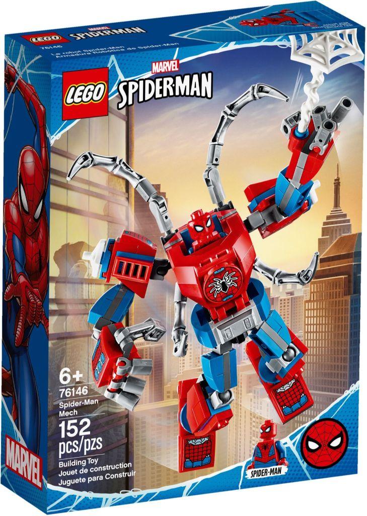 LEGO Marvel 76146 ადამიანი ობობა მექანი 2