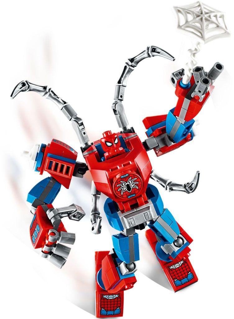 LEGO Marvel 76146 ადამიანი ობობა მექანი 3