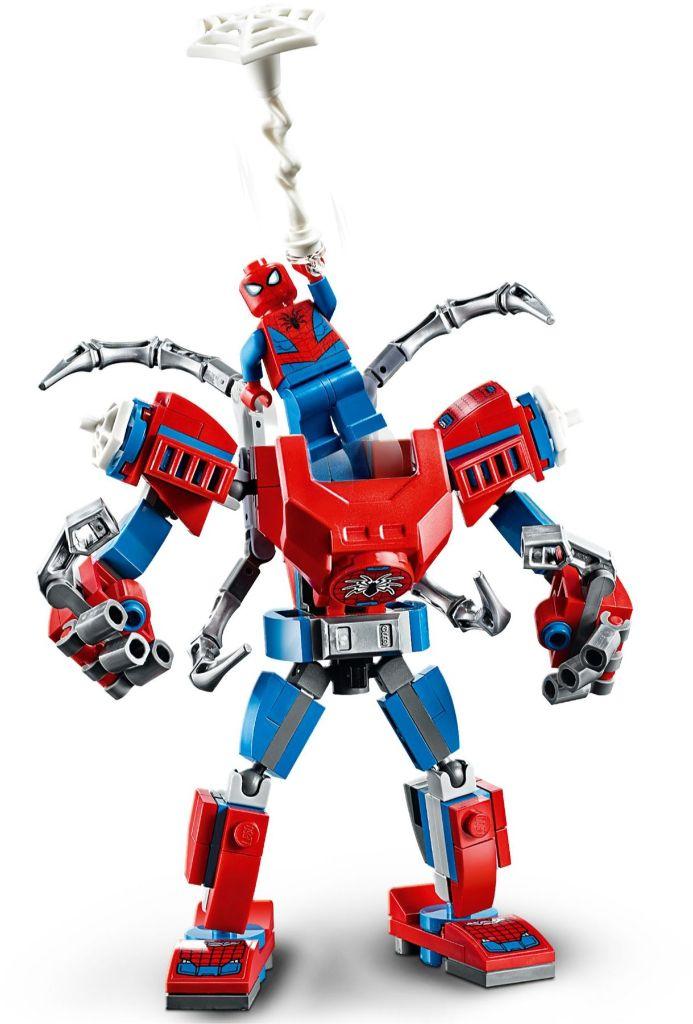 LEGO Marvel 76146 ადამიანი ობობა მექანი 4