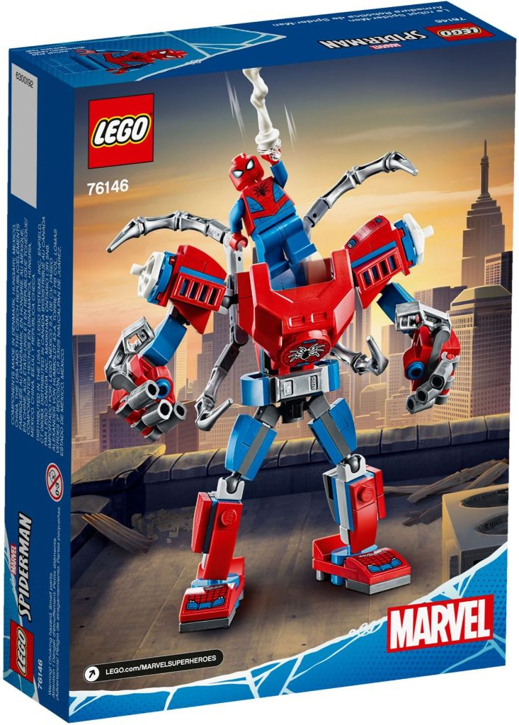 LEGO Marvel 76146 ადამიანი ობობა მექანი 5