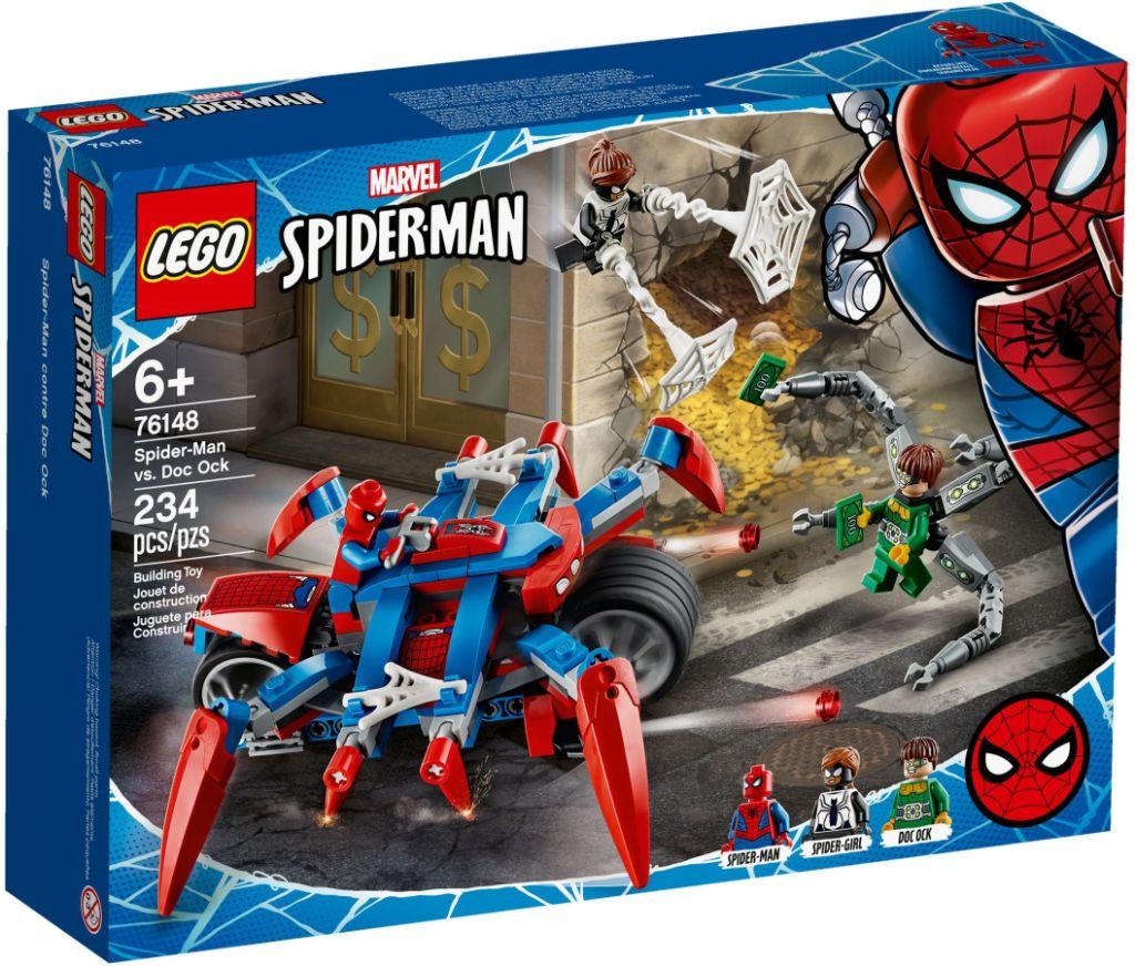 LEGO Marvel 76148 Spider Man vs Doc Ock 2