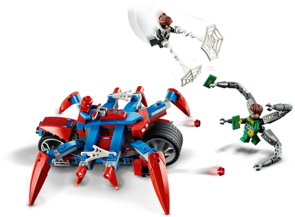 LEGO Marvel 76148 Spider Man vs Doc Ock 3