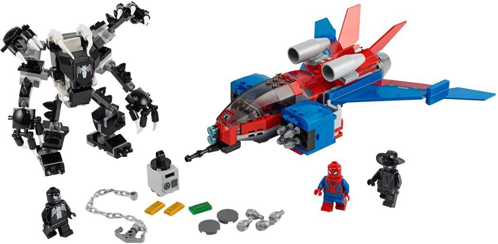 LEGO Marvel 76150 Spiderjet vs Venom Mech 1