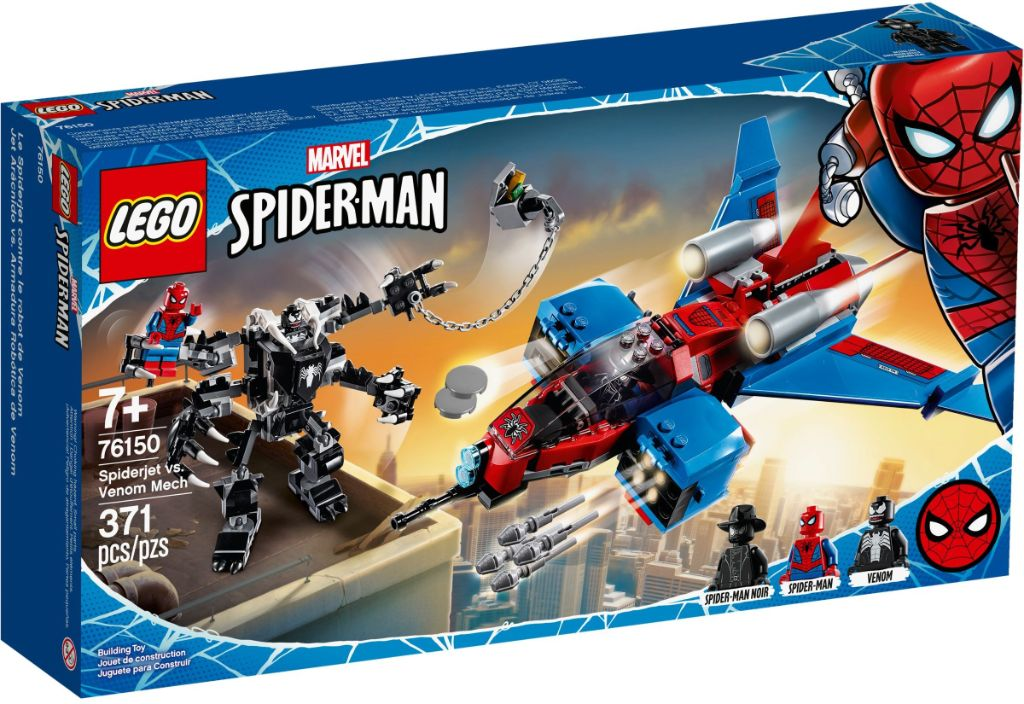 LEGO Marvel 76150 Spiderjet vs Venom Mech 2
