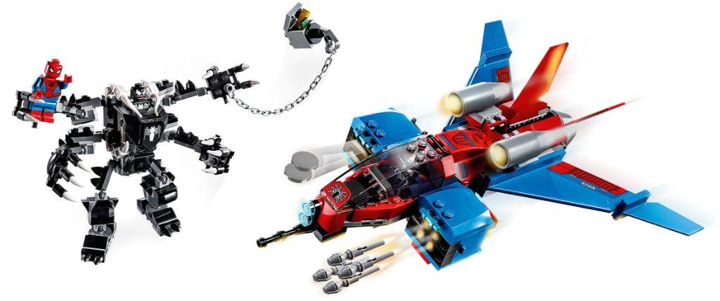 LEGO Marvel 76150 Spiderjet vs Venom Mech