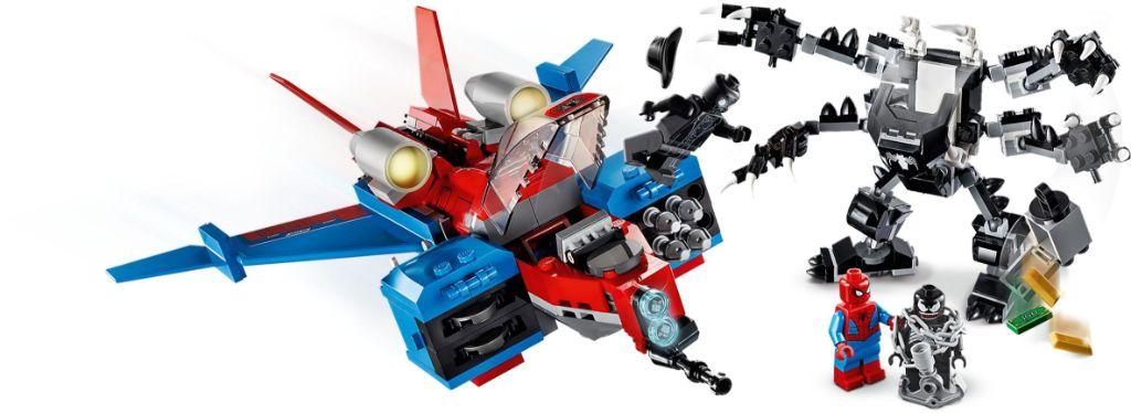 LEGO Marvel 76150 Spiderjet vs Venom Mech 4