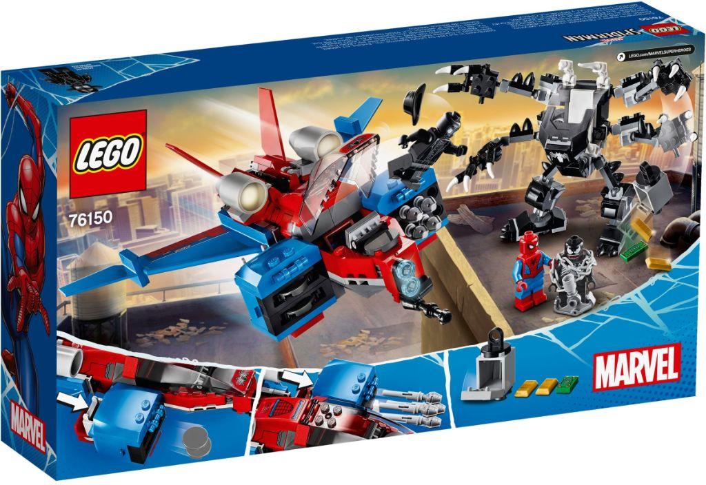 LEGO Marvel 76150 Spiderjet vs Venom Mech 5