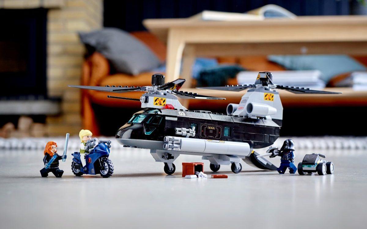Lego Marvel 76162 Black Widows Helicopter Chase 1 တည်းဖြတ်သည်