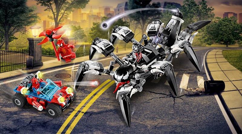 LEGO Marvel 76163 Venom Crawler featured 800 445