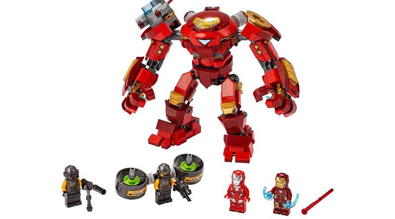 LEGO Marvel 76164 Iron Man Hulkbuster Versus AIM Agent
