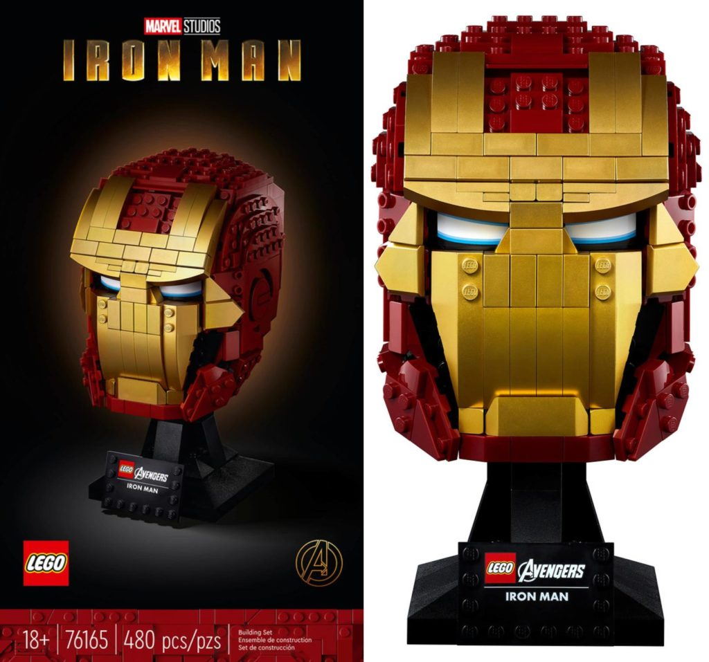 LEGO Marvel 76165 Iron Man Helmet 1