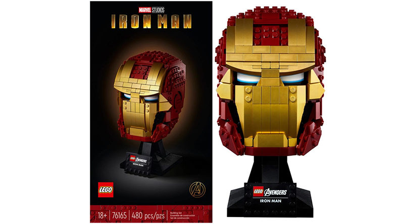 LEGO Marvel 76165 Iron Man Helmet