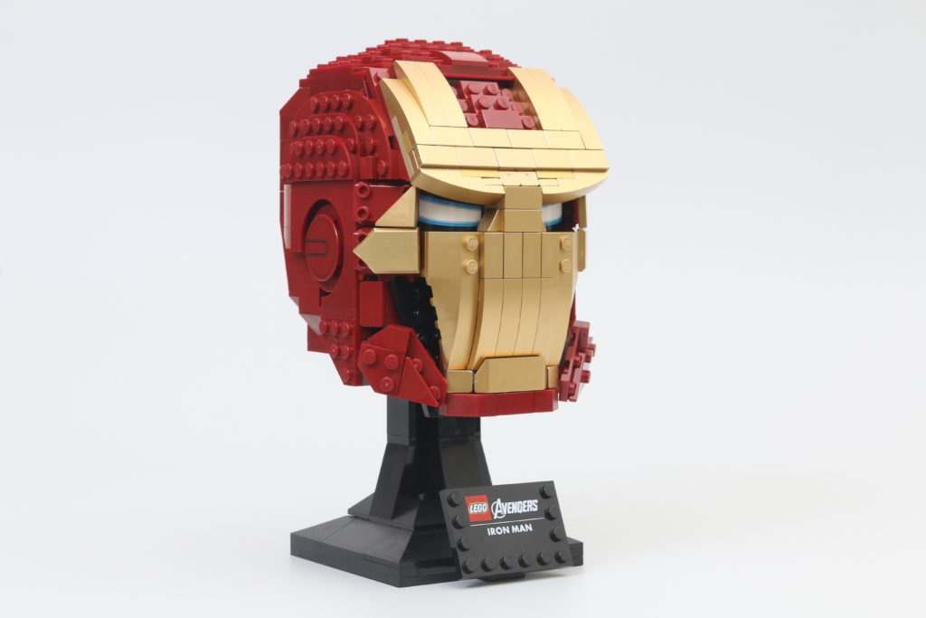LEGO Marvel 76165 Iron Man Helmet Review 1