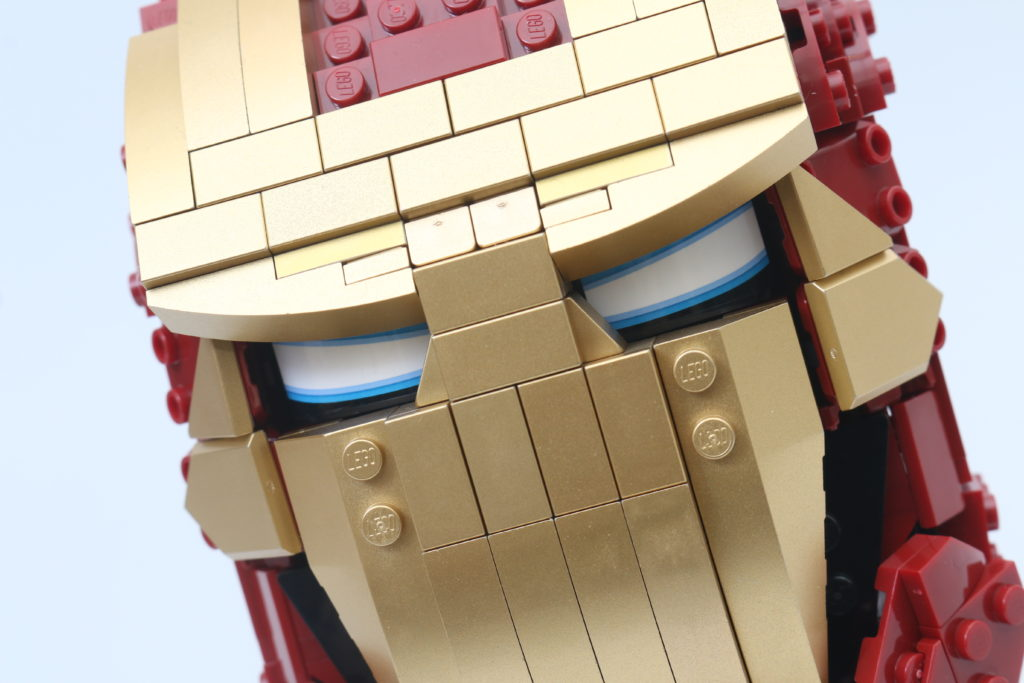 LEGO Marvel 76165 Iron Man Helmet Review 10