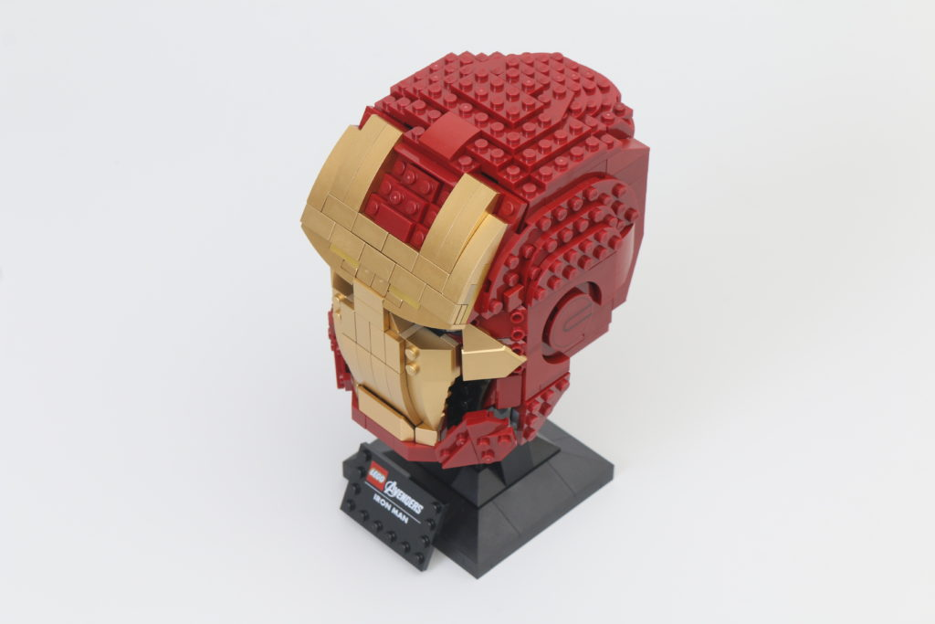 LEGO Marvel 76165 Iron Man Helmet Review 11