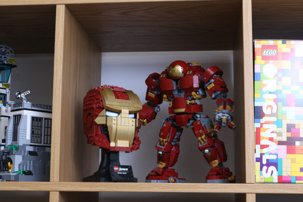 LEGO Marvel 76165 Iron Man Helmet Review 13