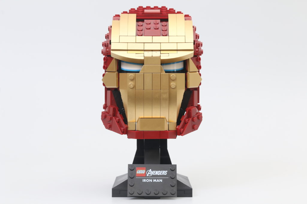 LEGO Marvel 76165 Iron Man Helmet Review 2