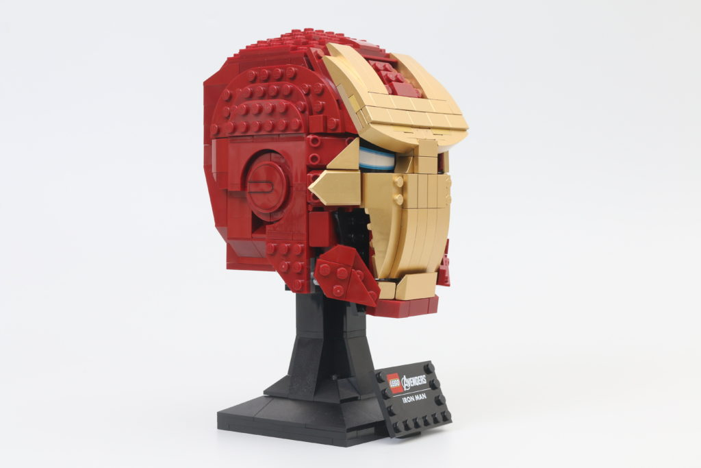 LEGO Marvel 76165 Iron Man Helmet Review 3
