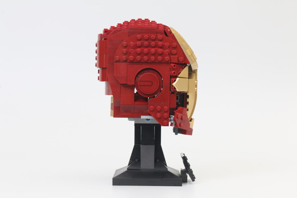 LEGO Marvel 76165 Iron Man Helmet Review 4
