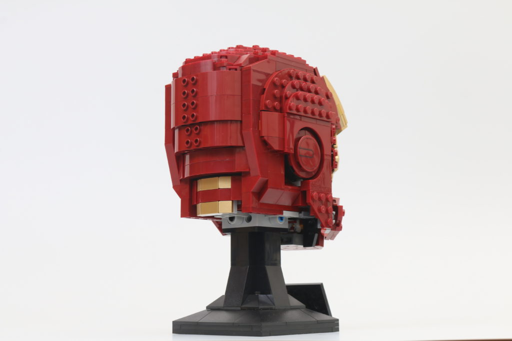 LEGO Marvel 76165 Iron Man Helmet Review 5