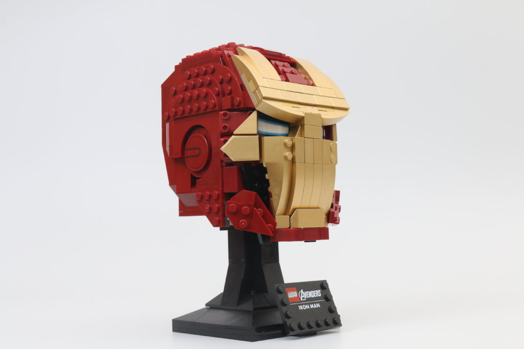 LEGO Marvel 76165 Iron Man Helmet Review 7