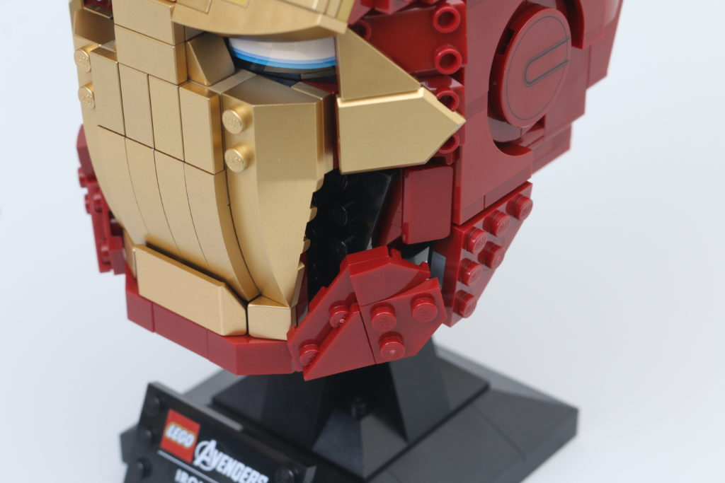 LEGO Marvel 76165 Iron Man Helmet Review 9