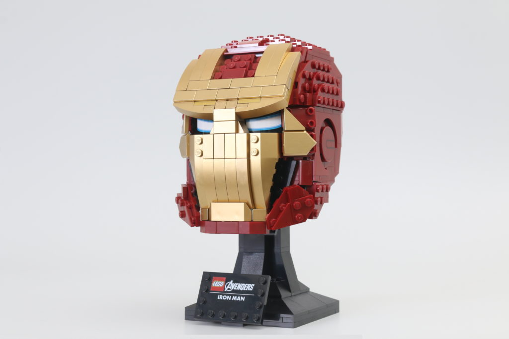 LEGO Marvel 76165 Iron Man Helmet Review End 2