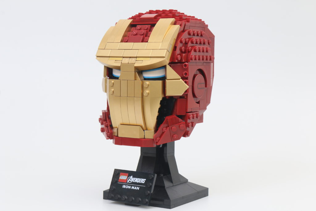 LEGO Marvel 76165 Iron Man Helmet Review Main