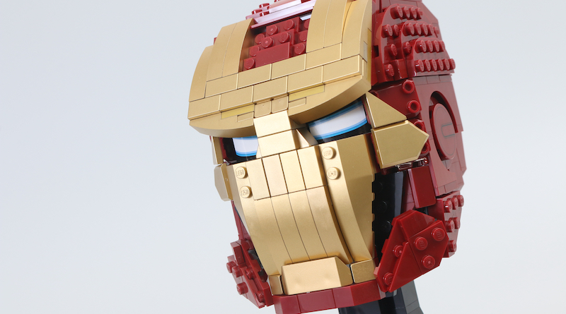 LEGO Marvel 76165 Iron Man Helmet review title