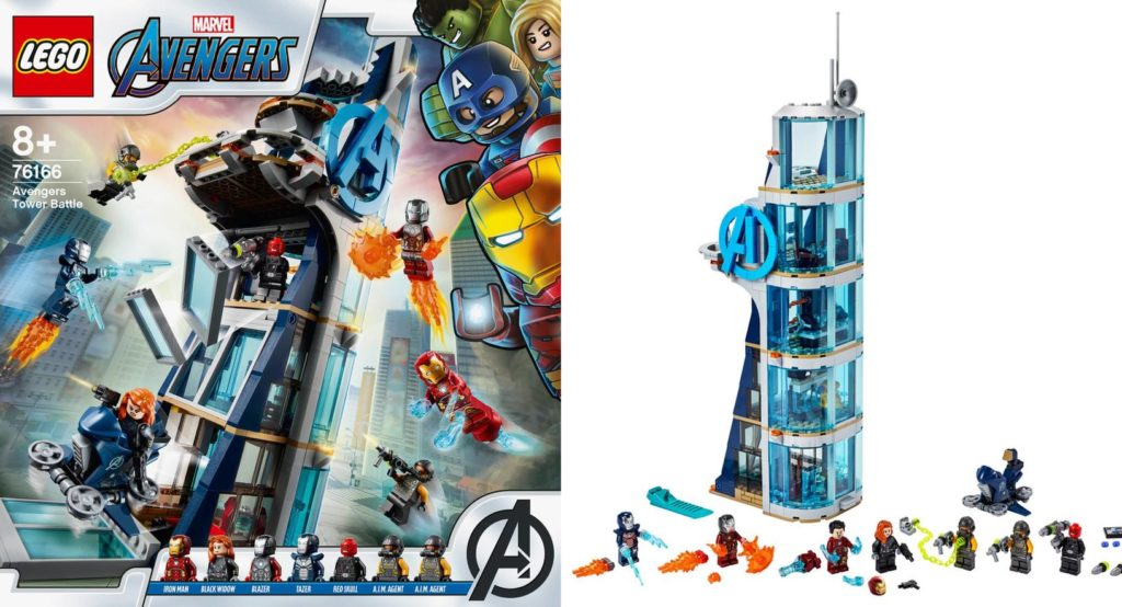 LEGO Marvel 76166 Avengers Tower Battle 1