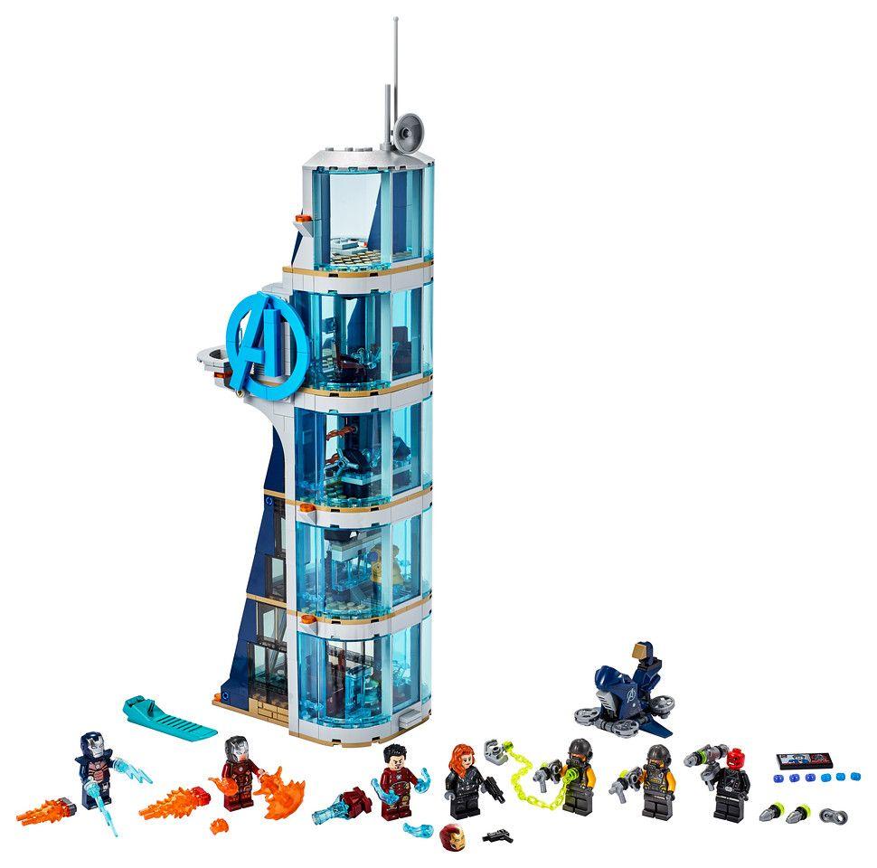 LEGO Marvel 76166 Avengers Tower Battle 2