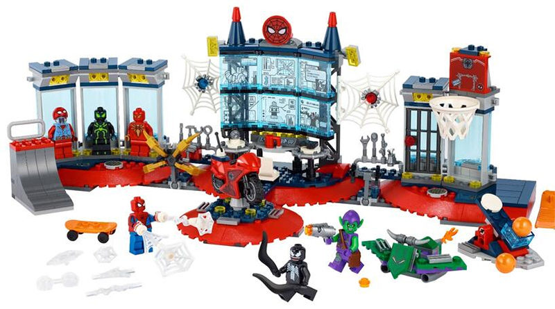 LEGO Marvel 76175 Attack on the Spider Lair featured