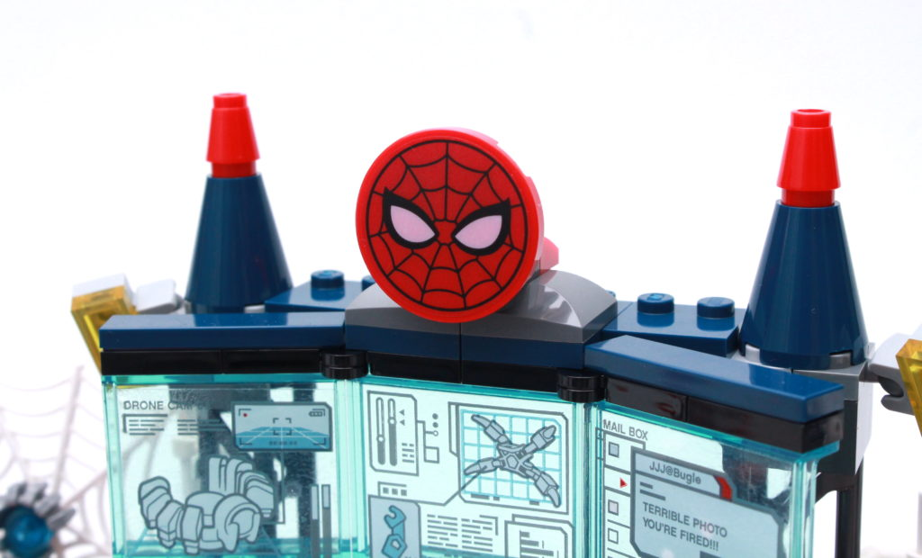 LEGO Marvel 76175 Attack On The Spider Lair Review 14
