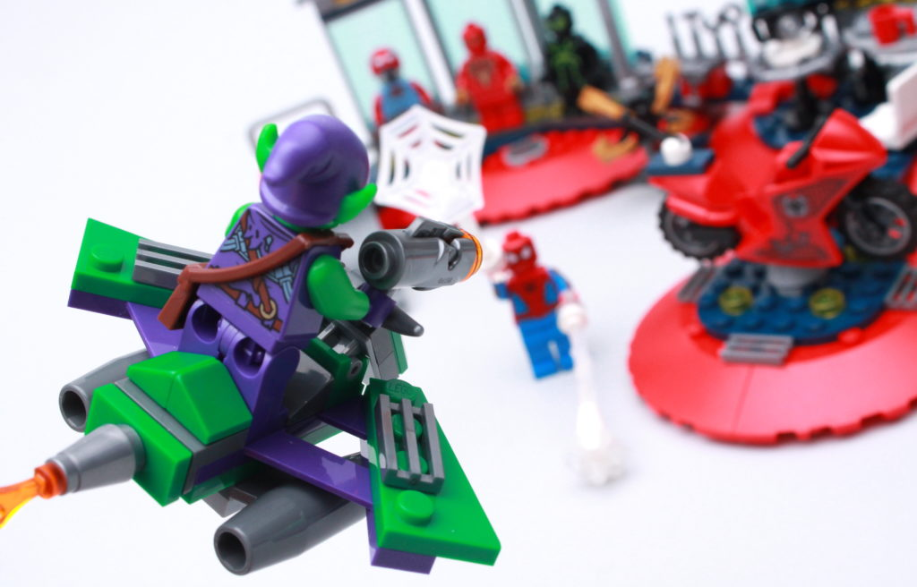 LEGO Marvel 76175 Attack On The Spider Lair Review 18