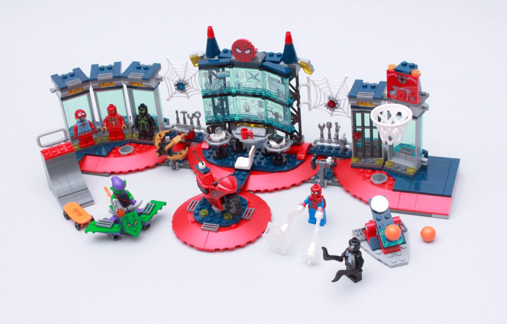 LEGO Marvel 76175 Attack On The Spider Lair Review 2