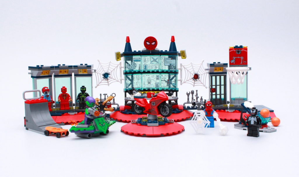LEGO Marvel 76175 Attack On The Spider Lair Review 3
