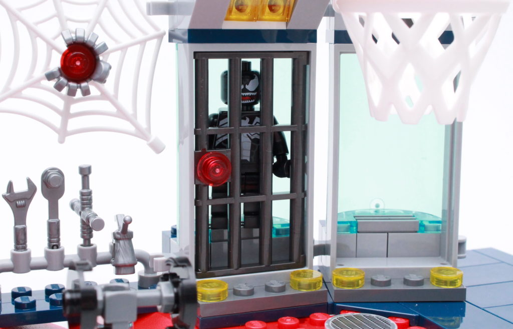 LEGO Marvel 76175 Attack On The Spider Lair Review 5
