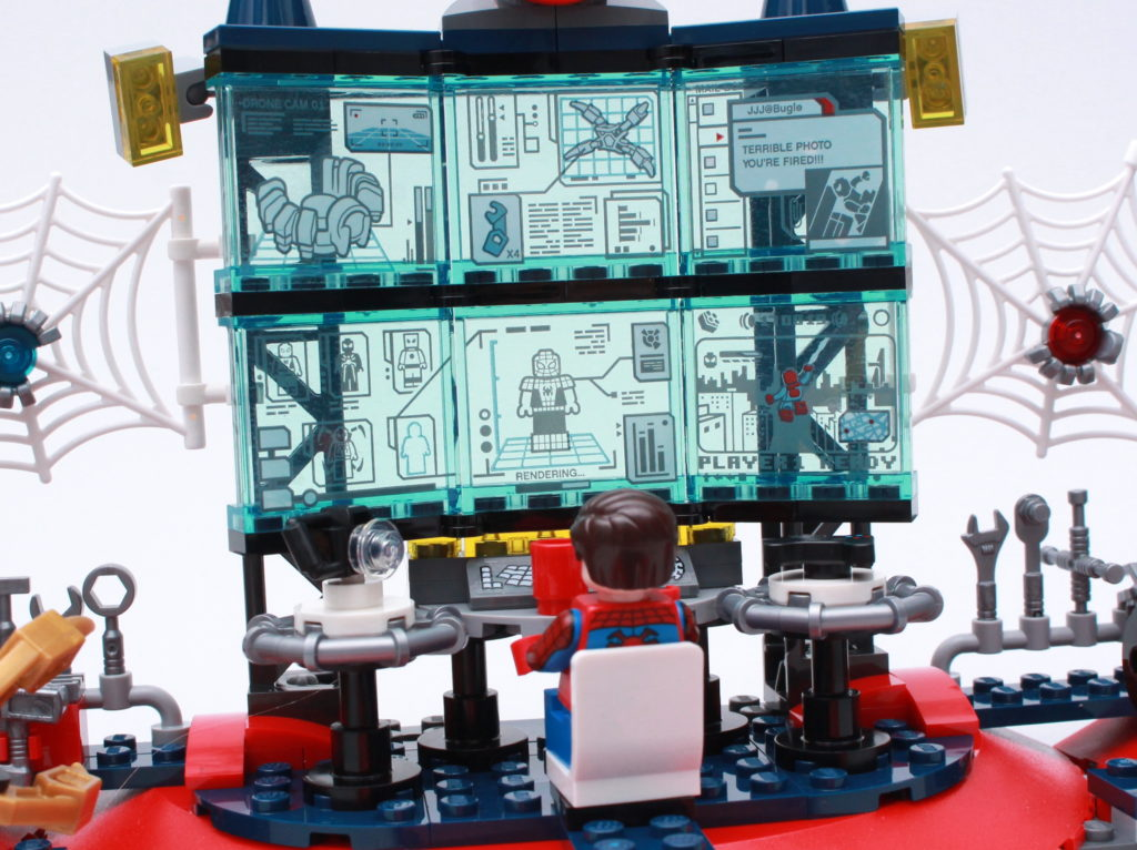 LEGO Marvel 76175 Attack On The Spider Lair Review 6